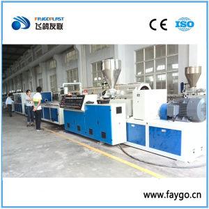 Ventana de PVC Serie Yf Línea de producción de perfiles