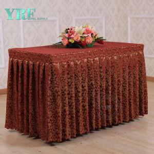 Yrfの中級のホテルのジャカード表のスカート