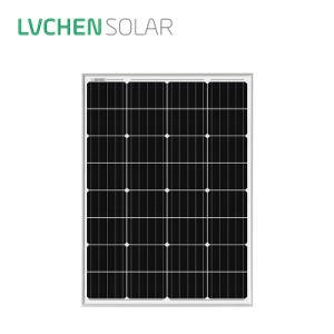 Fabricante chino Mono Lvchensolar 12V 100W Módulo del panel solar