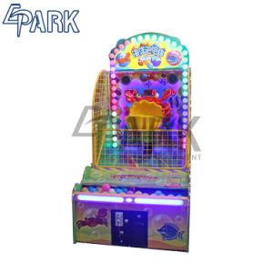 ゲームセンターの子供の投球の球のゲーム・マシンの販売のための硬貨によって作動させる買戻しのゲーム・マシン