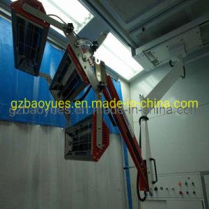 Lámpara de rayos infrarrojos en cabinas de pintura para Auto Retoque de pintura