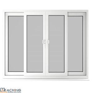 Como Padrão da Austrália 2047 portas de correr em vidro temperado de alumínio para edifícios