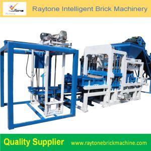 Qt4-18 de bloque de hormigón de cemento que maquinaria pesada máquina de fabricación de ladrillos huecos pavimentadora sólidos