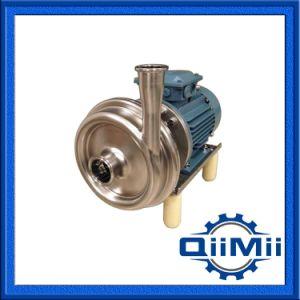 L'industrie alimentaire Tri sanitaires des transferts de liquides de trèfle ss316L Pompe centrifuge