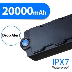 20000 mAh большой аккумулятор водонепроницаемый магнит ручной 2g 3G WCDMA GPS Tracker ТЗ20ГНЭ