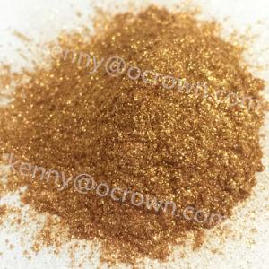 Pigmento dell'involucro di intensità dello spostamento di colore Chameleon dell'oro/di 88542 colori rossi multi
