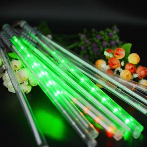 Solardekoration-Zeichenkette-Lichter der weihnachtslicht-Meteor-Dusche-Regen-Gefäß-LED helle im Freien feenhafte