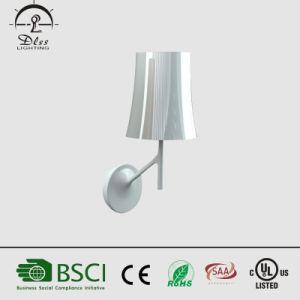Hotel de alumínio venda quente de iluminação decorativa candeeiro de parede branca