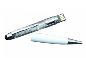 Flash Drive Cristal USB palillo de la pluma del tacto del USB