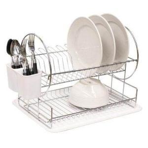 Cesto de arame de metal para uso da cozinha