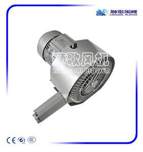 Ventilador de aire regenerativo de 2,2 kw para el sistema de transporte Pnenmatic