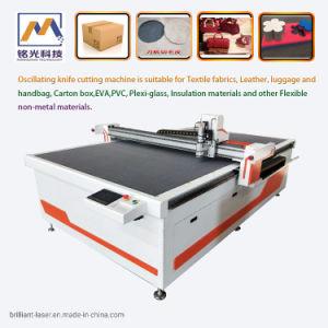 Marcação Automática do preço de fábrica de Vestuário Vestuário Padrão Material Plotter de corte CNC de corte pano tecido couro máquina de corte