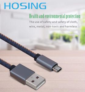 Джинсы для изготовителей оборудования на заводе экранирующая оплетка USB-кабель передачи данных и технологичным дизайном