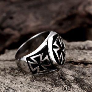 새로운 특별한 디자인 남자 보석 티타늄 강철 남자 반지는 형식 남자 반지 하신다