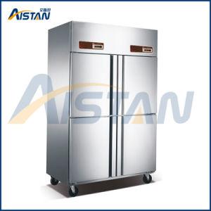 Congelatore commerciale della cucina del portello Gd2 2