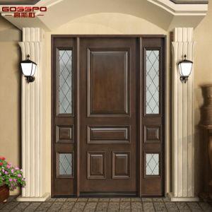 Portello esterno dell'entrata del comitato del mogano 6 di Overside della villa (GSP1-037)