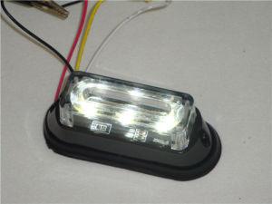 Bernsteinfarbiger LED-Warnleuchten-Kopf (SL623-S-amber)