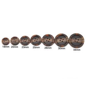 Abitudini che cucono i tasti di plastica della perla per la camicia, vestito, cappotto, giacca sportiva (PB80001)