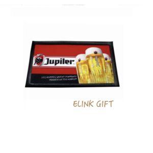 La promotion de la bière NBR tissu arrière en caoutchouc en tapis de plancher non tissé Entrée table Tapis de comptoir