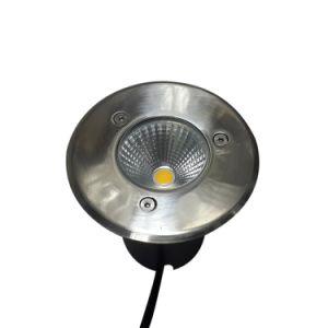 3W LED U-Inground Licht für Garten-Beleuchtung