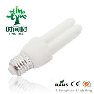 2u 15W T4 6000h gran cantidad de lúmenes de luz de ahorro de energía con B22/E14/E27 Base (CFL2UT46KH)