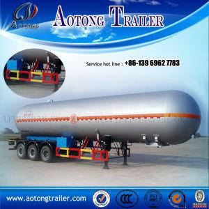 販売のための三車軸40cbm燃料のタンカーか半オイルのディーゼル輸送のトラックタンクトレーラー