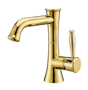 金カラー浴室の洗面器のコックNj-0030