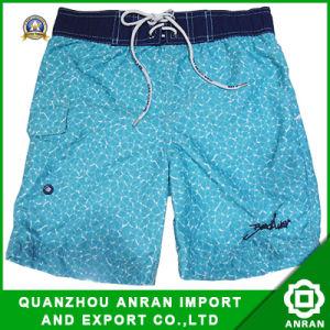 Shorts della spiaggia degli uomini semplici di stile con poliestere