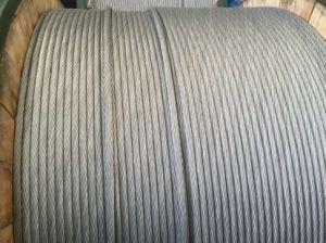 O núcleo do cabo de aço revestido de alumínio para fio reforçado