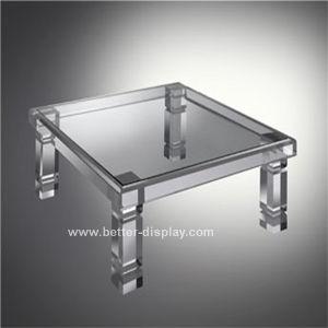 유리제 상단 (BTR-Q7001)를 가진 아크릴 유기 유리 탁자