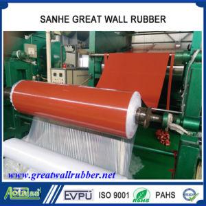 Blad van het Nitril SBR van het Neopreen van het Silicone van de kleur EPDM het Natuurlijke Industriële Rubber