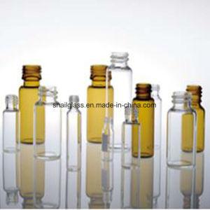 0,5Ml -30ml âmbar e frasco de vidro Tubular Clara