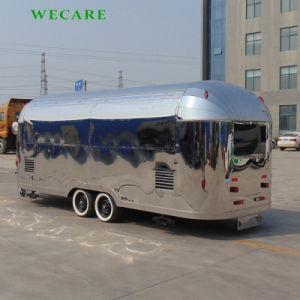 Elektrische mobile Schnellimbiss-Karre in China