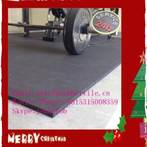 高品質の運動場のゴム製床のマットか安定したタイルまたは体操の床のマット