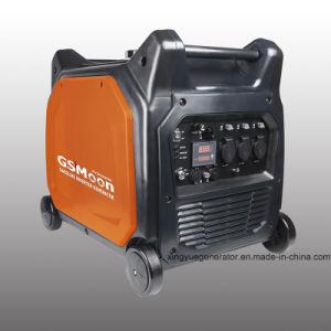 5.5KVA inversor gasolina generador eléctrico con mando a distancia