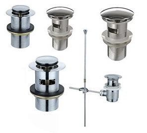 Bathtub&Wash盆地のための真鍮の正方形のポップアップ下水管の無駄