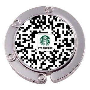 Code QR personnalisé sac sac à main crochet de suspension (XS-BH0523)