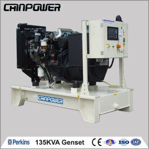135kVA industriële Open Diesel van het Type Generator met Brushless Alternator