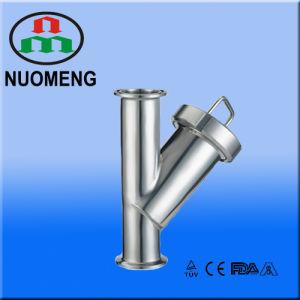 소음 위생 스테인리스 죄진 Y 유형 스트레이너 (. NM100208)