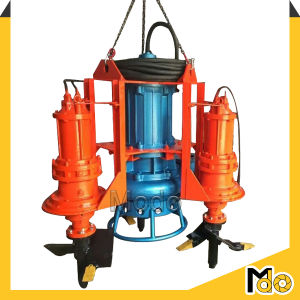 De centrifugaal Pomp Met duikvermogen van de Baggermachine met Mengapparaat