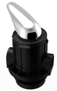 Control manual de la válvula del filtro GA1502