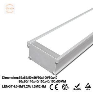 Colgante de aluminio de alta potencia suspensión 1200*80*40 LED 20W luz lineal