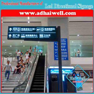 Airport를 위한 Free Standing Indoor Signage를 주문 설계하십시오