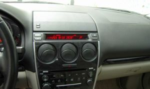 Mazda 6을%s 차 DVD