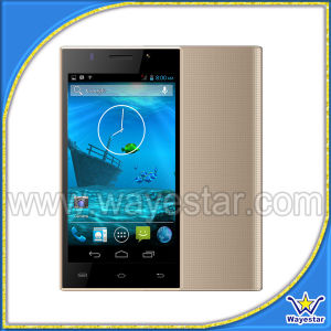 Goedkoopste 5 Duim Androïde 4.4 Smartphone Dubbele SIM