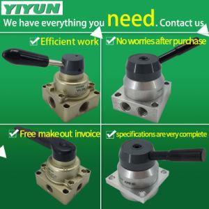 Hv серии ручной переключатель пневматических выключателя света заднего хода три места четырех каналов клапан
