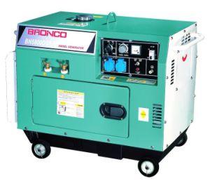 Diesel tipo silencioso generador de soldadura (BN5800DSE/W)