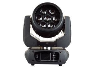 7*15W RGBW LED мини мойки перемещение светового пучка Колошения лампа