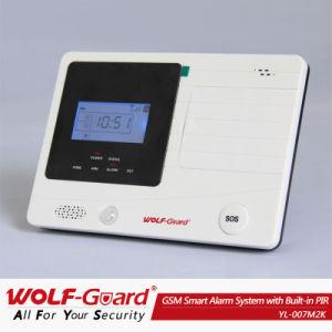 2013 ¡Nuevo! Home /Business Security GSM SMS el sistema de seguridad de la alarma con Detector de humo y la energía solar la sirena (YL-007M2K)