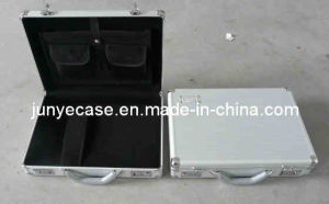 Aluminiumfall mit Notebook Pocket und Strap